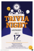 Reminder: Trivia Night this Wednesday!